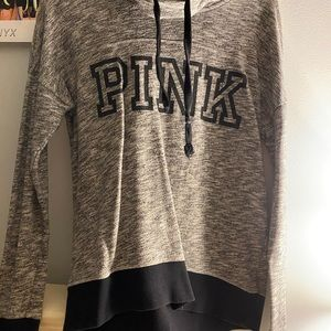 Pink Victoria secret sweatshirt no hoodie
